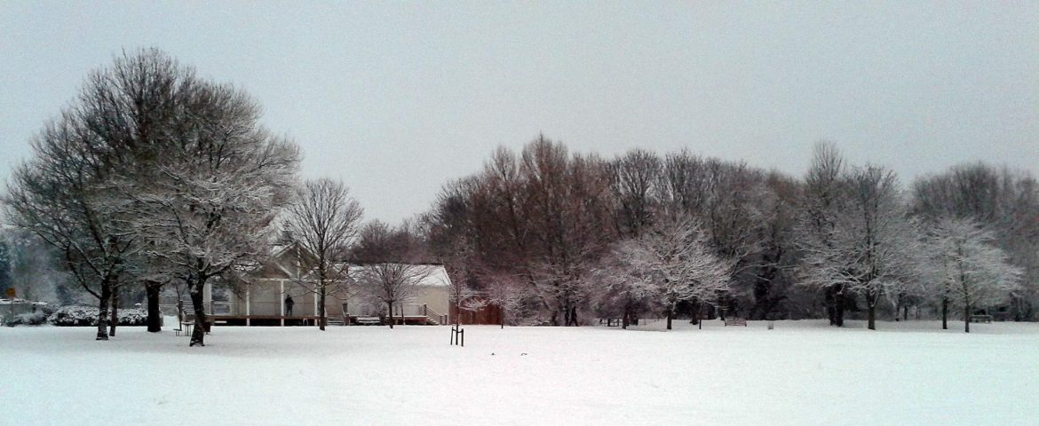 Winter Snow, Central Park, Dartford
