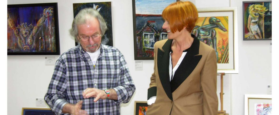 Mary Portas visits the Gallery