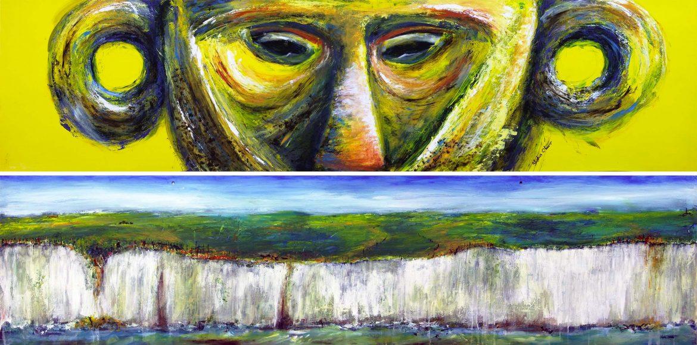 'Mask' and 'Somwhere along the south coast'