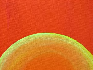 Setting Sun detail