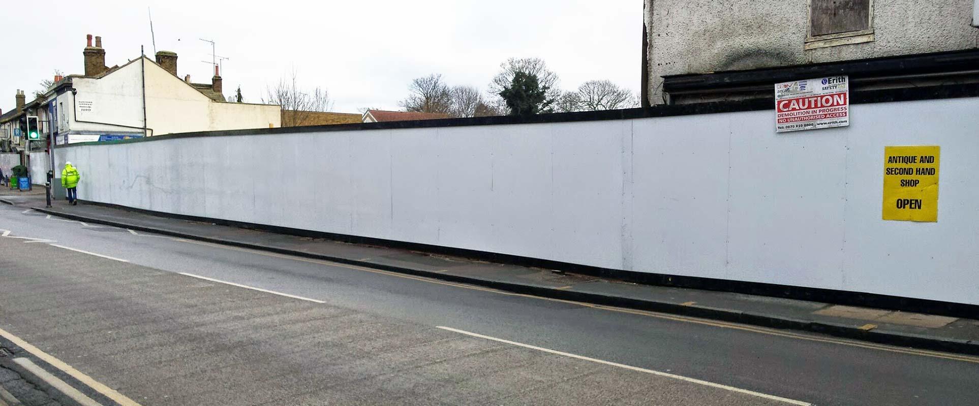 Tesco Hoarding Lowfield Street