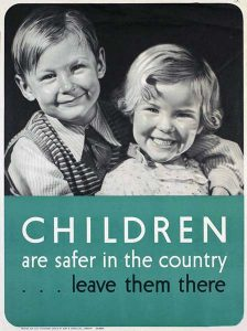 children are safer in the country poster