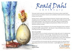 Roald Egg Poster