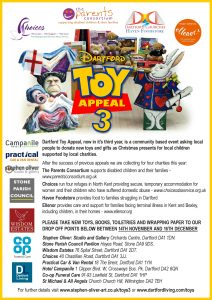 Dartford Toy Appeal 3 Poster