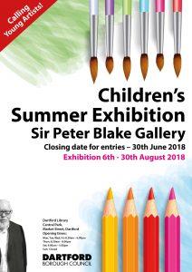 Childrens Summer Exhibition 2018 Poster