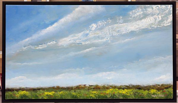 Fields of Sky (framed)