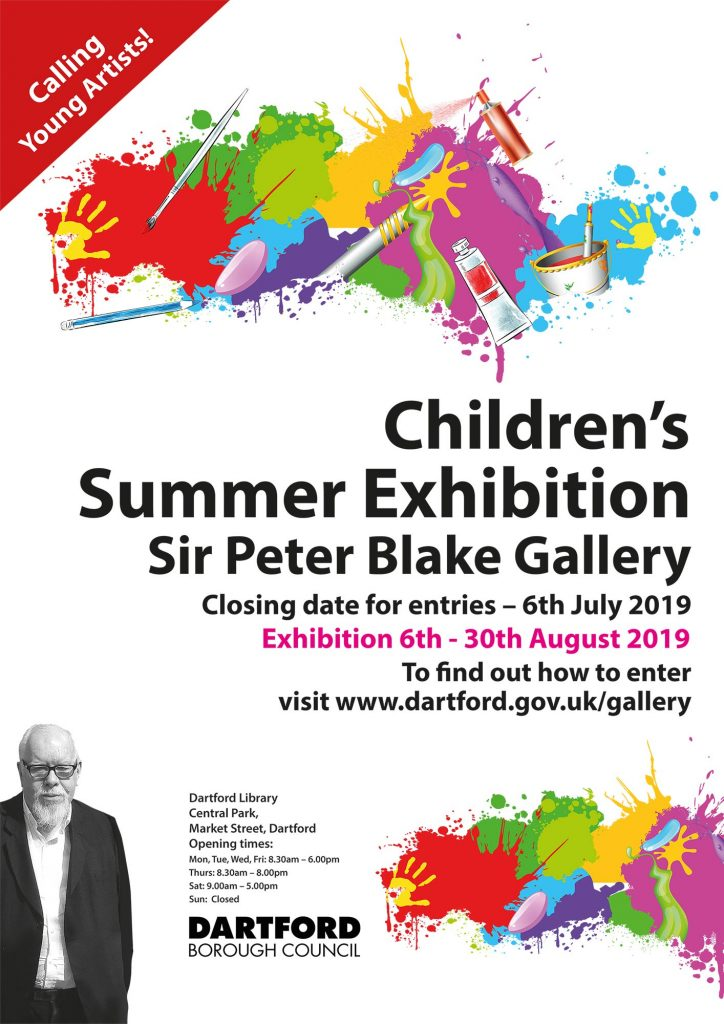 Children's Summer Exhibition Poster 2019